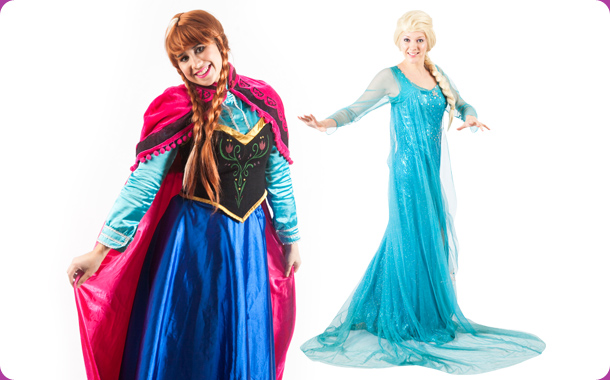 Elsa & Anna, Kids Entertainers